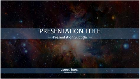 Powerpoint Templates Galaxy | free galaxy powerpoint template 11509 sagefox