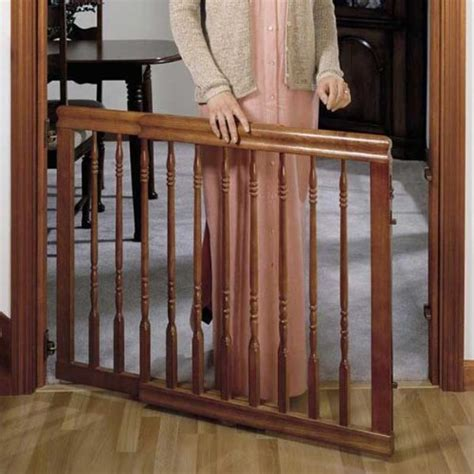 evenflo home decor wood swing gate evenflo home decor