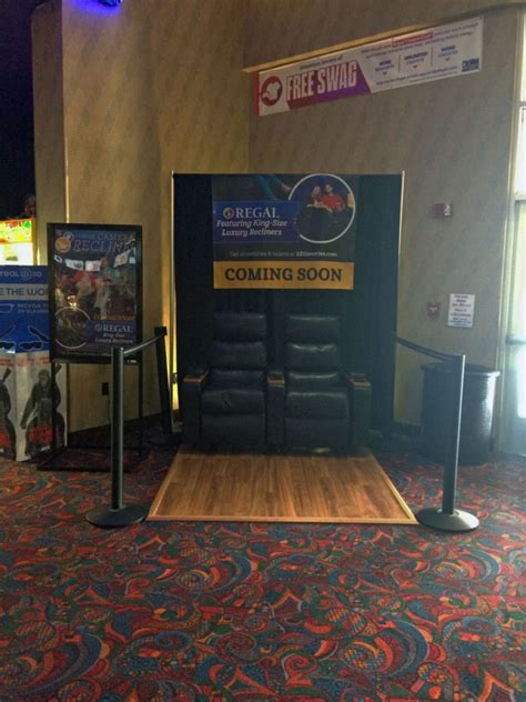 regal king size recliners king size recliners coming to columbiana grande movie