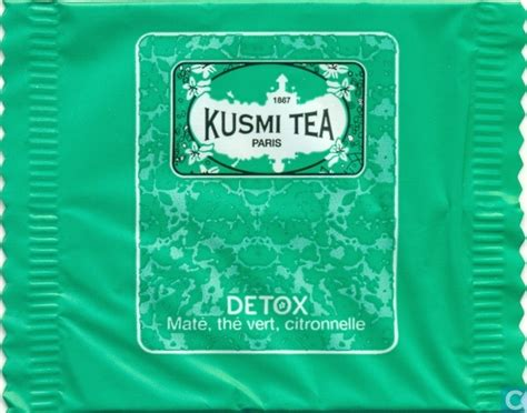Thé Detox Kusmi Tea by Detox Kusmi Tea Catawiki