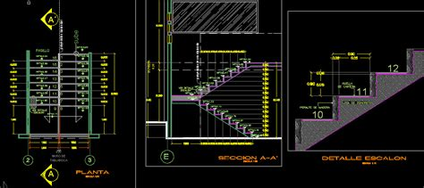 section dwg stair details dwg section for autocad designs cad