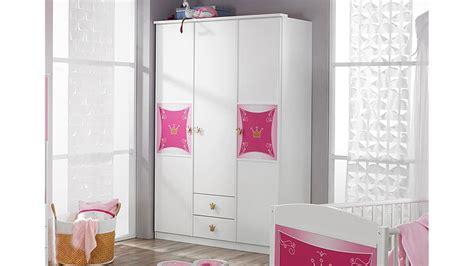kleiderschrank rosa kleiderschrank kate schrank in wei 223 und rosa dekor 3 t 252 rig