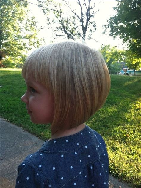 kids inverted bob my little girl s inverted bob with bangs
