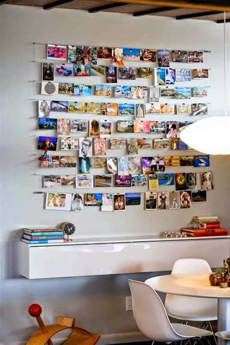 Imagenes Hang Up | 9 ideas para crear un mural de fotos en el sal 243 n