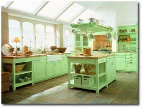 Cottage Kitchen Furniture by 5 Gorgeous Kitchens With Boldly Colored Cabinets