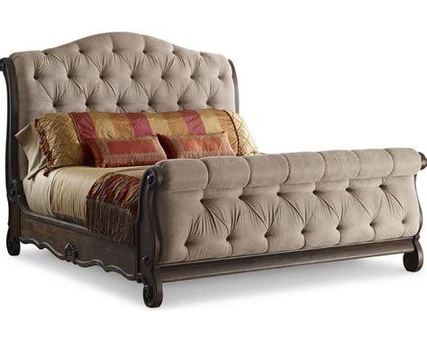 thomasville sleigh bed casa veneto upholstered sleigh bed thomasville furniture
