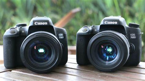canon 750d canon t6i 750d vs canon t6s 760d differences
