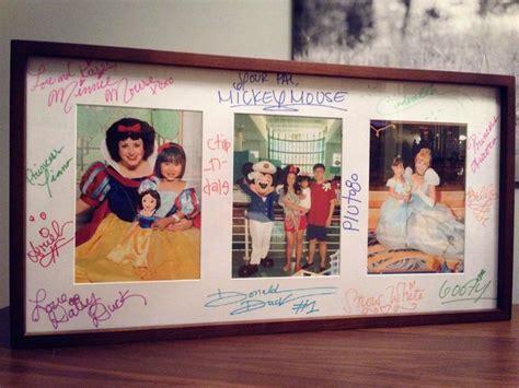 Disney Photo Mat - disney characters autographed photo mat disney