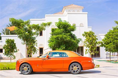 roll royce orange tiger rolls royce wows dubai motoring