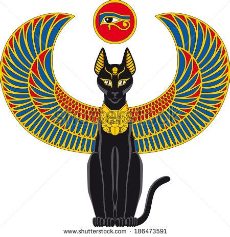 Egyptian Cat Symbols