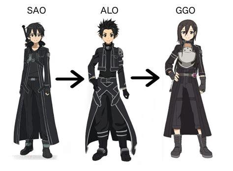 Jaket Sweater Gun Gale Ggo Sword Sao Hoodi best kirito anime amino