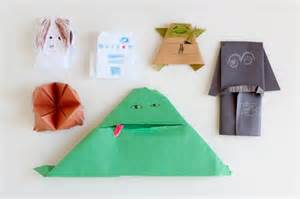 Origami Wars Finger Puppet - book review the origami yoda series make and takes