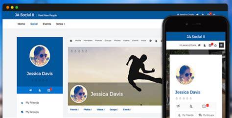 joomla social media template ja social ii v1 0 0 template for joomla 3 4 joomlart
