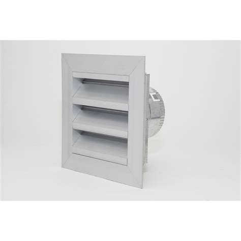 Pacific Kitchen Vent Pacific Air 100mm Aluminium Weatherproof Louvre Vent
