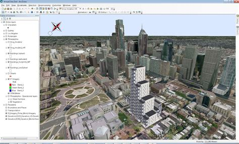layout view arcscene cityengine to arcgis arcgis blog