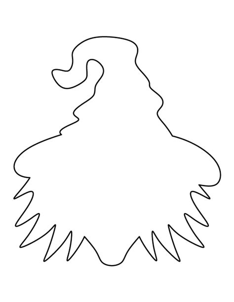 printable witch stencils witch face pattern use the printable outline for crafts