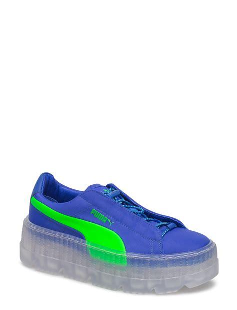 Fenty By Rihanna Size 37 40 1 cleated creeper surf wns dazzling blue green gecko 1250 kr fenty by rihanna boozt
