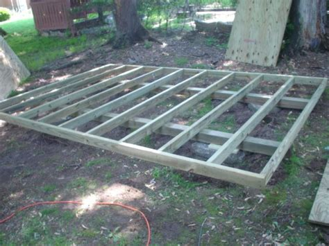 Best Shed Foundation by Pressure Treated Shed Floor Woodworking Plans For