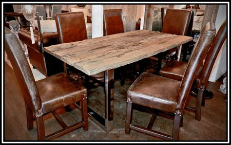railway sleeper dining table home home on the range