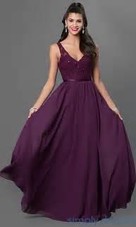 purple formal dresses prom dresses in purple