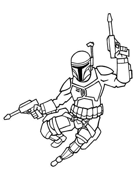 imagenes para colorear star wars dibujos para colorear star wars