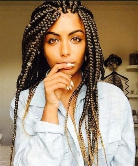 How To Do Bigbraids | how to do big individual braids hairstyles pictures
