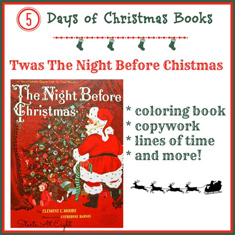 twas the before picture book 5 days of books twas the before