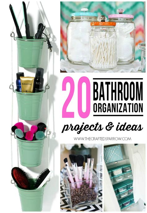 bathroom organization ideas 20 bathroom organization projects ideas