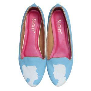 Sepatu Lukis Menara Eiffel Retro sepatu flat wanita sepatu haihil wedding sepatu cantik archives
