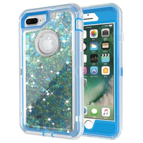 wholesale iphone    star dust clear armor defender case blue