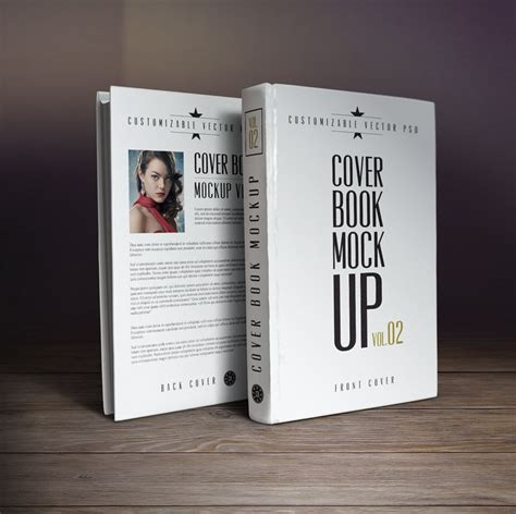 Psd Templates For Book Covers | 10 book cover psd mockup templates book pinterest