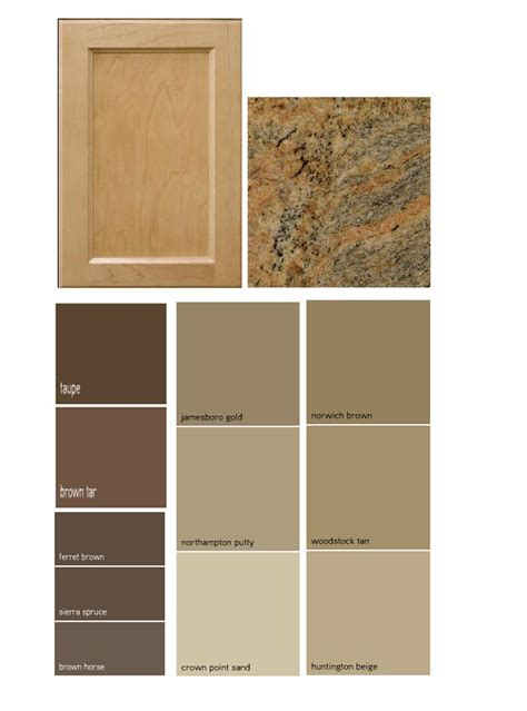 colors that match brown match a paint color to your cabinet and countertop