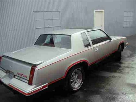 Lightning Rod Car For Sale Sell Used 1984 Oldsmobile Cutlass Hurst Olds With T Tops