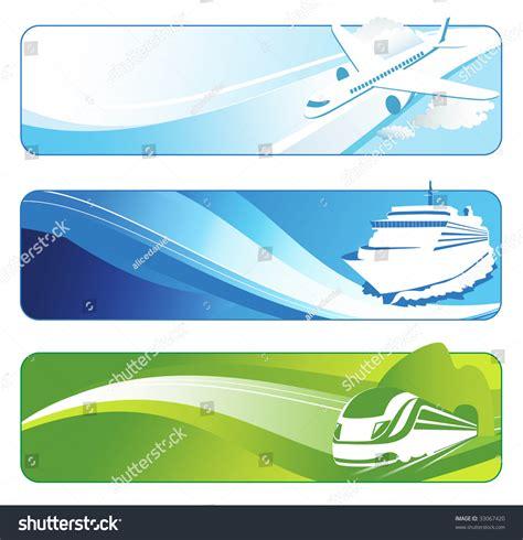 banner shutterstock travel banners stock vector 33067420 shutterstock