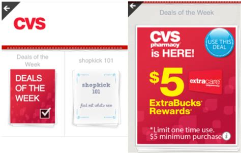 Shopkick Gift Cards - cvs free 5 gift card from shopkick coupons and deals savingsmania