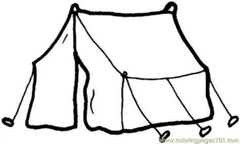 tent for living coloring page free printable coloring pages