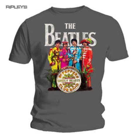 Best Seller Kaos Beatles Road Licensed Graphic official t shirt the beatles grey sergeant sgt pepper all sizes ebay