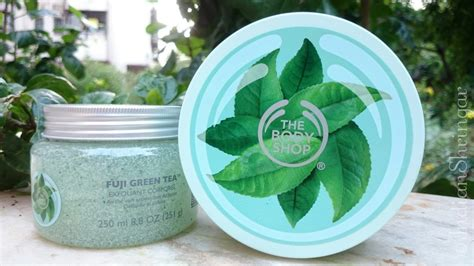 Parfum Fuji Green Tea Shop the shop fuji green tea scrub and butter review and price the bombay