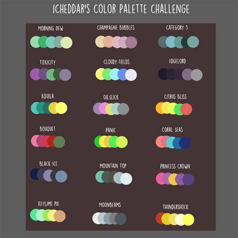 color pallete icheddar s color palette challenge by icheddar on deviantart