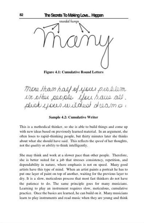 writing pattern analysis 132 best a guide to graphology images on pinterest