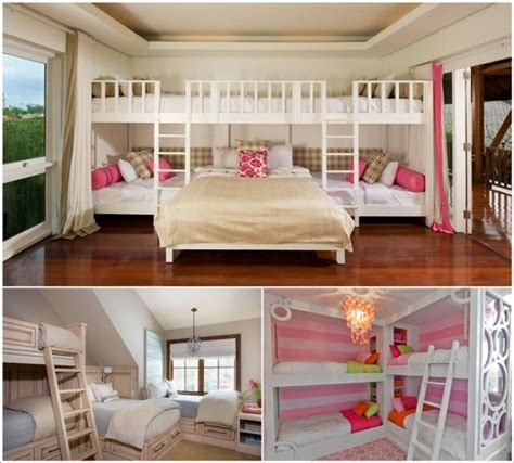 Four Bed Bunk Bed Bunk Bed Designs For Four
