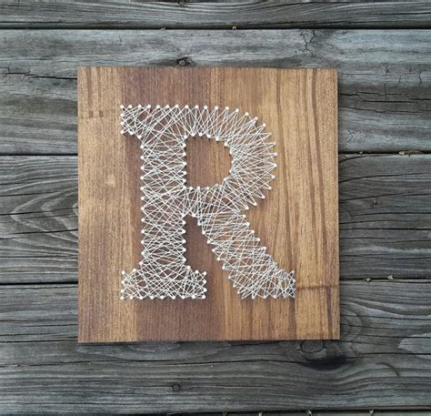 Wood And String - best 25 string letters ideas on string