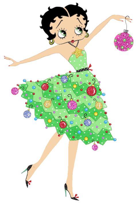 imagenes navidad betty boop betty boop dibujos de navidad