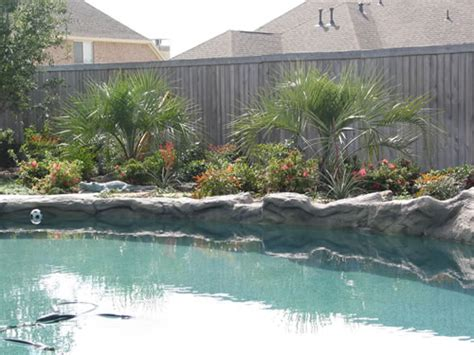 pool landscaping seasons lawn landscape