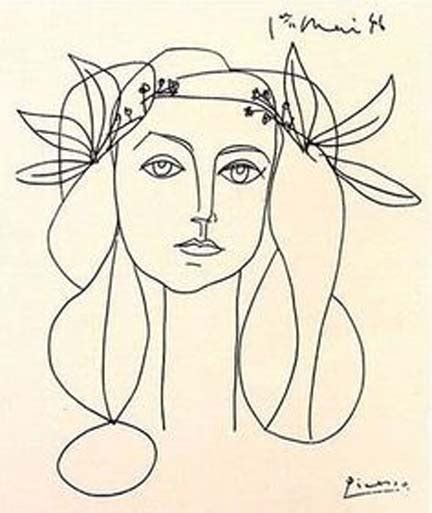picasso line drawings and 0486241963 masterful picasso sketches and drawings