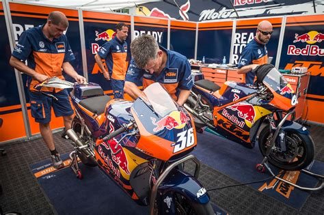 Ktm Mechanic Ktm Rc16 Motogp Race Bike Revealed