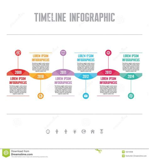 1000 Ideas About Timeline Infographic On Pinterest Infographic Templates Ai Illustrator And Timeline Infographic Template