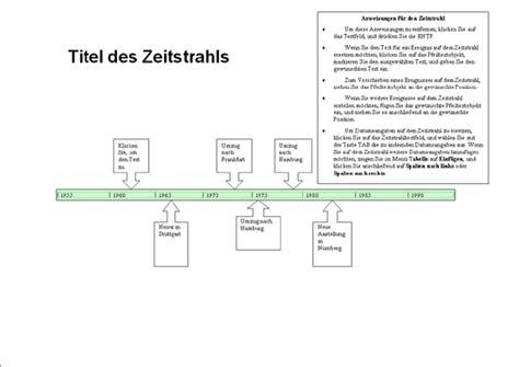 Word Vorlage Zeitstrahl Zeitachsen Office