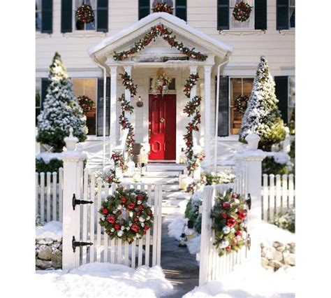 festive decoration company twirling clare festive christmas porch decor