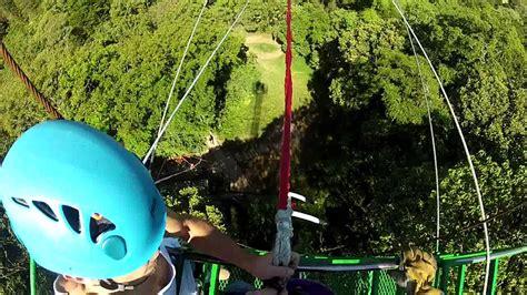 tarzan swing monteverde costa rica monteverde cloud forest mega tarzan swing 100